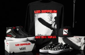 Vans X Led Zeppelin Era and Sk8-Hi – Release Details
