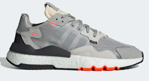 Adidas nite Jogger(GREY TWO / MGH SOLID GREY / SOLAR ORANGE)