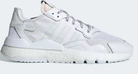 Adidas Nite Jogger (FTWR WHITE / CRYSTAL WHITE / GREY ONE)