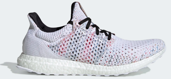 Missoni x Adidas Ultra Boost Clima (White/Cyan-Red) Left Side View