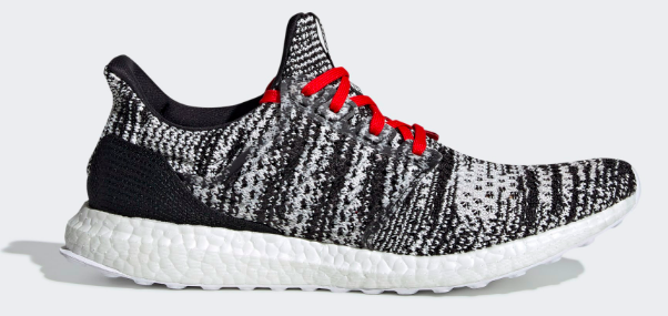 Adidas x Ultra Boost Missoni (Black/White-Red) Left Side View