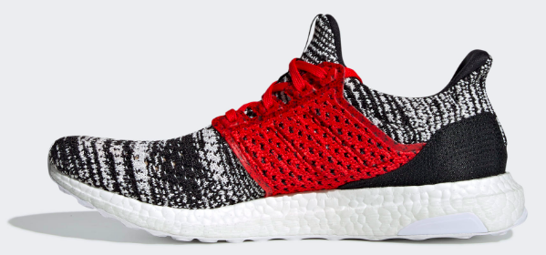 Adidas x Ultra Boost Missoni (Black/White-Red) Right Side View