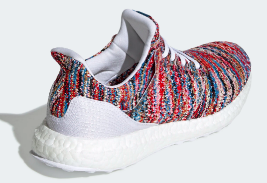 Adidas x Ultra Boost Missoni (White/Cyan-Red) Upper