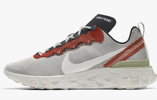 Nike react Element 55 Premium  By You