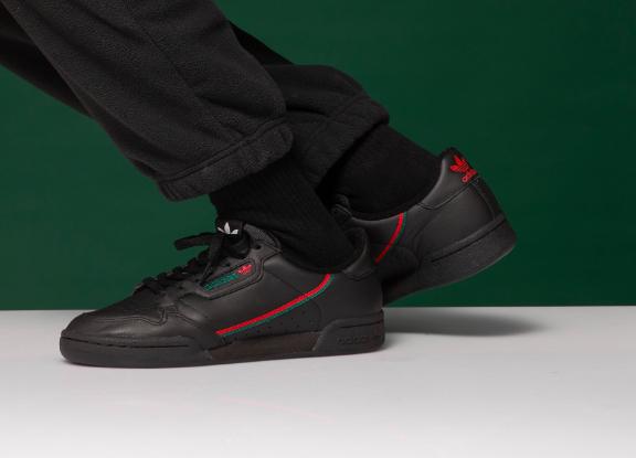 promotiecodes 2018 sneakers de verkoop van schoenen Adidas Continental 80 in Gucci Colour | For Kicks sake