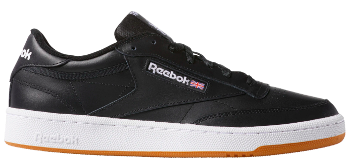 "Reebok Club C 85 ""Intense Black/White-Gum"""
