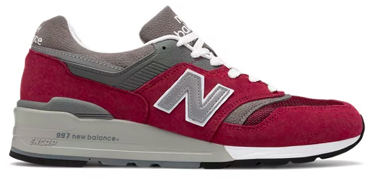 To show what New Balnce 997 looks like to the viewers