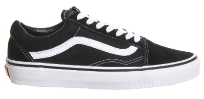 To show what a Vans Old Skool sneaker looks like