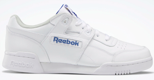 To show the lateral view of Reebok Workout Plus