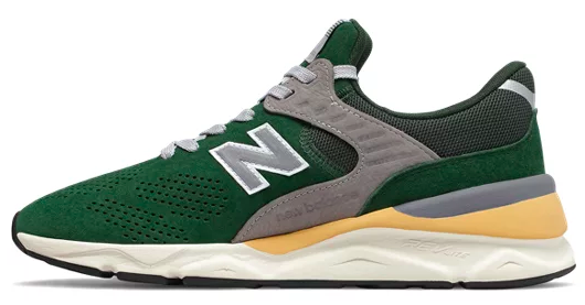 The medial view of New Balance X-90