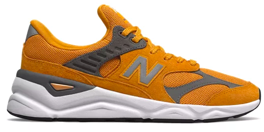 New Balance X-90 Goldrush with Castlerock colourway