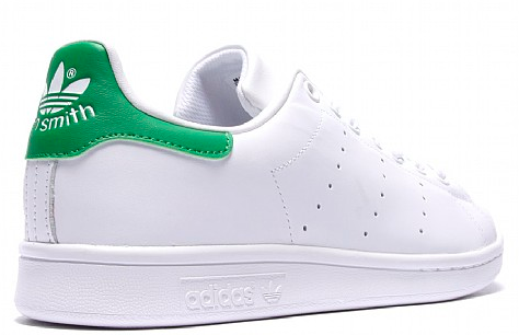 To show what an Adidas Stan Smith sneaker looks like