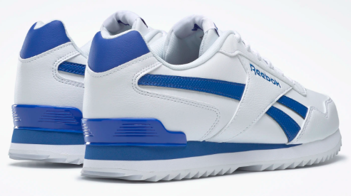 Shows the heel of the Reebok Royal Glide