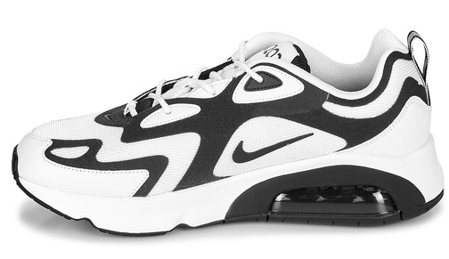 The media view of the Nike Air Max 200