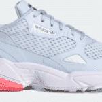 adidas falcon aeroblue cloud white semi flash red