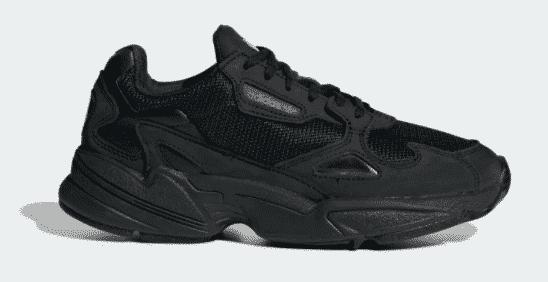 adidas falcon black black grey five